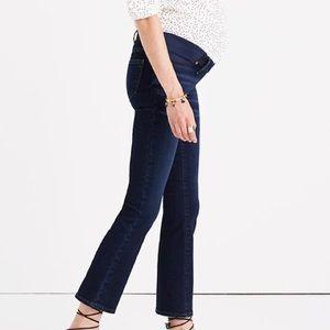 NWT! Madewell Maternity Cali Demi-Boot Jeans